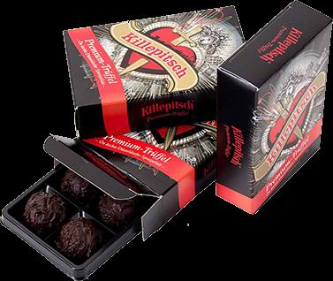 Killepitsch Trüffelschokolade